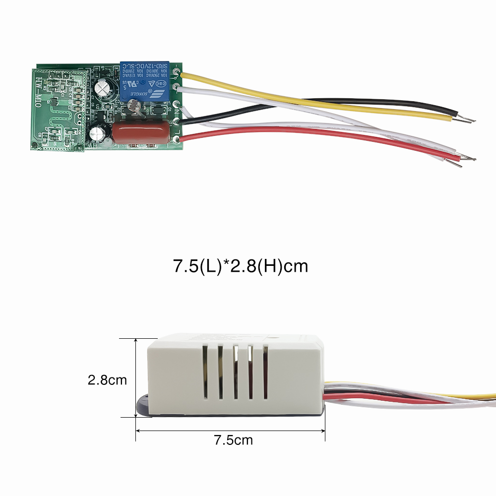 Sensky 220V-240V AC 50Hz Auto Body Motion Microwave Radar Sensor Module Sensitivity 6LUX delay time 30s detection distance 5~8m