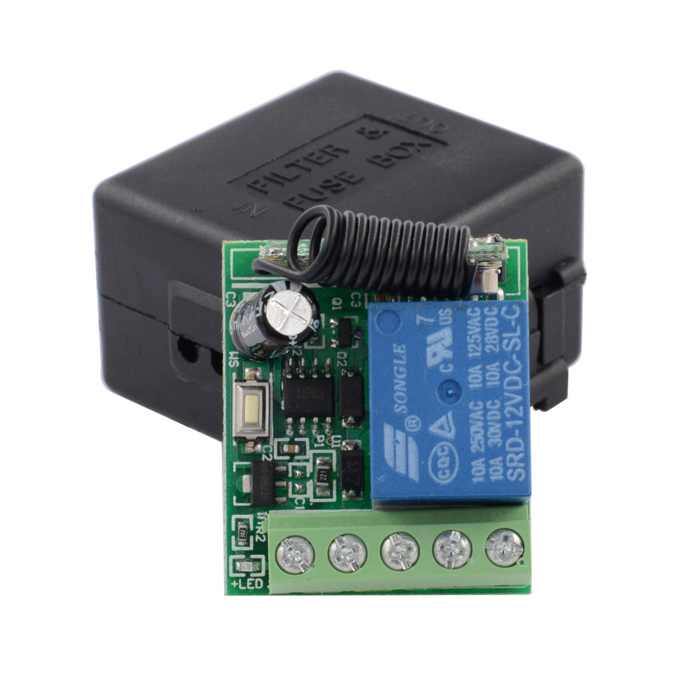 Dc 12v Timer Remote Switch Time Delay Ajustable Rf Wireless On Off Relay Controller Power Contact 5s 10s 15s Purchasing Souring Agent