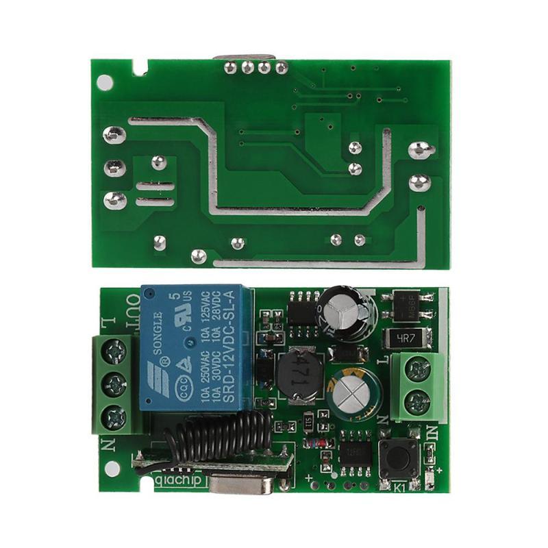 Plastic Wireless Remote Control Receiver Module 8 Channel for Garage