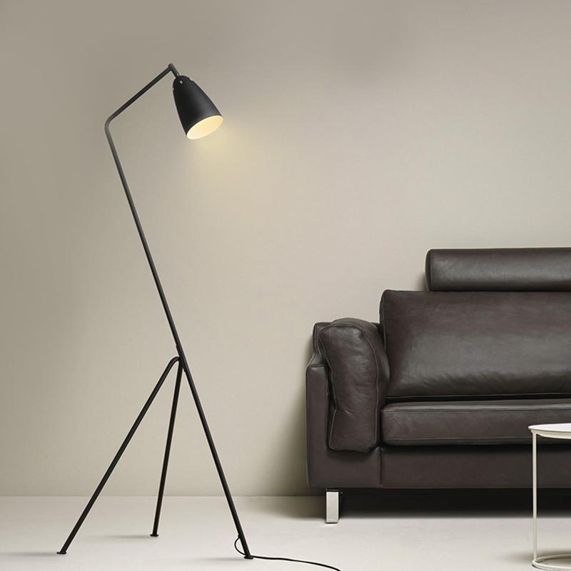 Replica Design Grasshopper Floor Lamp/light Gubi Grasshopper Shake Floor standing Lamp black ...