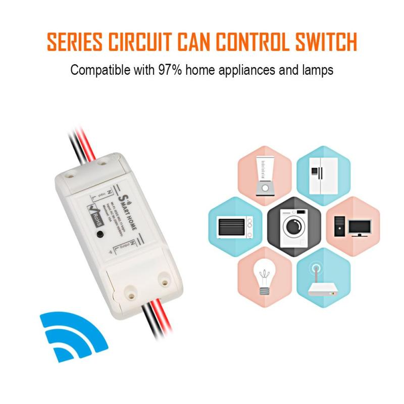 Smart Home WiFi Switch App Control Wireless Switch Work With Amazon ALEXA Voice Control Timer Light Switch DIY Automation Module