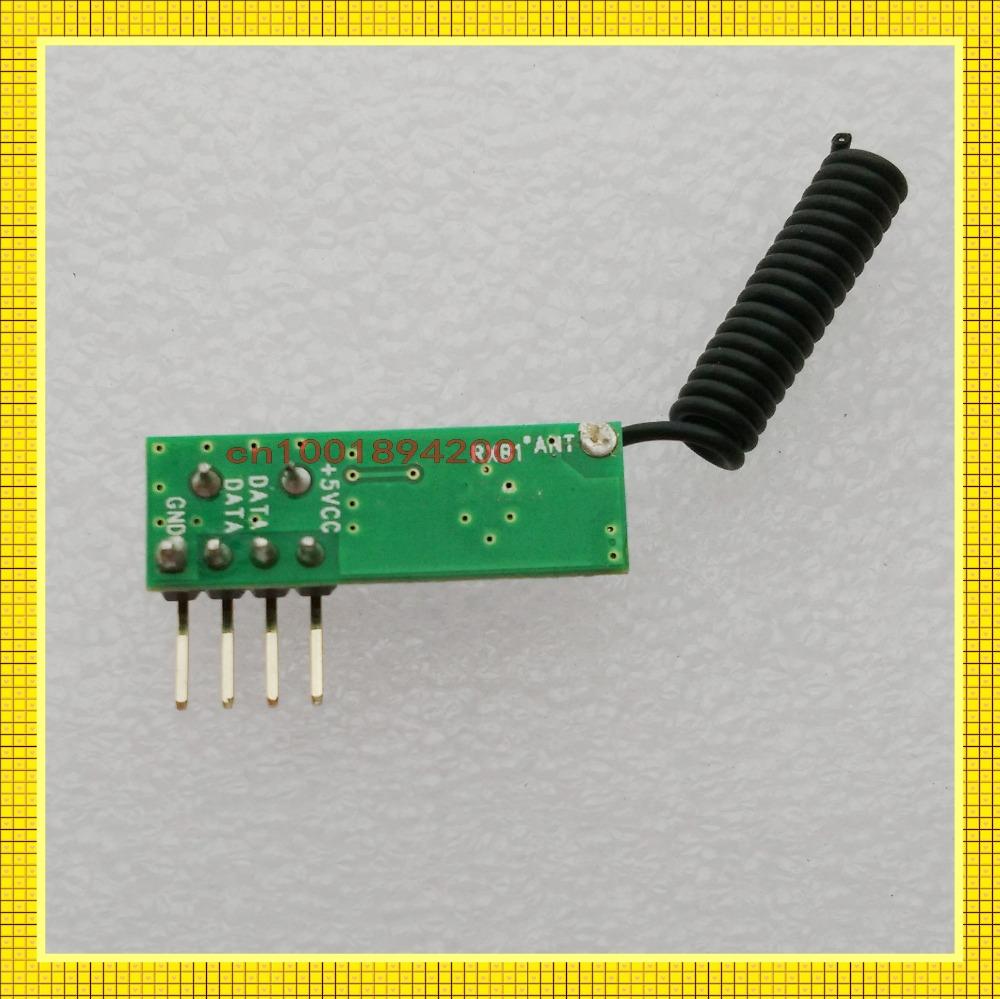 315/433MHz ASK Wireless Module kit RF receiver Factory sell directly Mini Size RX Signal Receiver Module-110dBm High Sensitivity