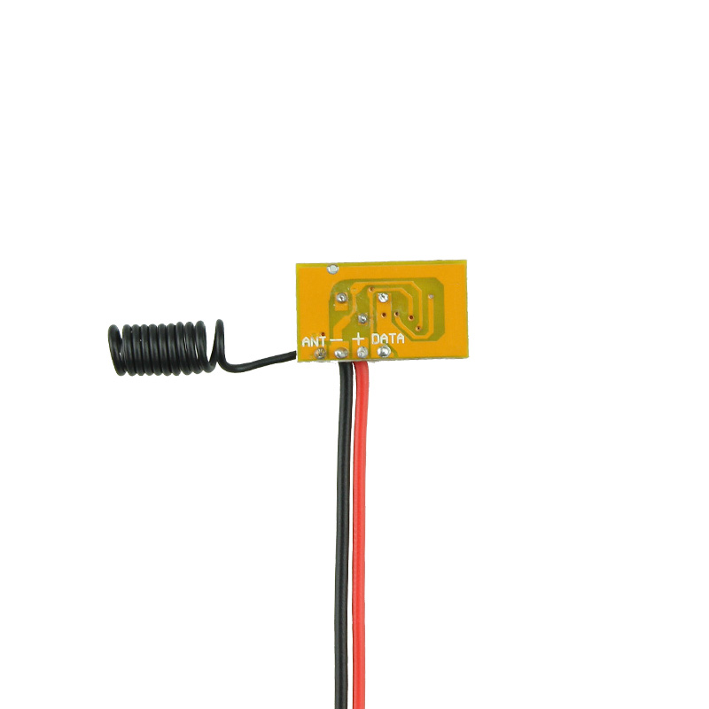 Micro Remote Control DC3V-12V RF Wireless Transmitter PCB 3V 3.6V 3.7V 4.5V 5V 6V 9V 12V Power on Transmitting 315/433 RC TX 1CH