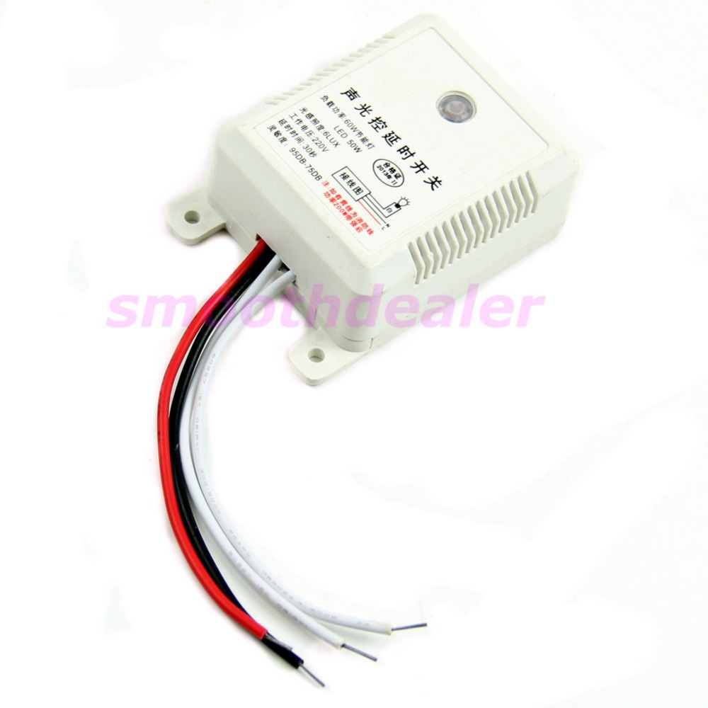 Module Detector Intelligent Sound Voice Sensor Light Switch Auto On Off