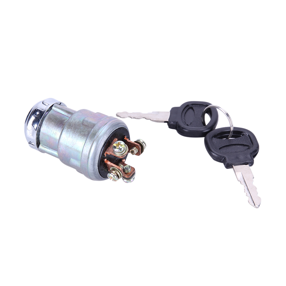 Universal 12V Car Boat Motorcycle Ignition Starter Key Switch Barrel 4 Position With 2 Keys for Petrol Engine High Quality