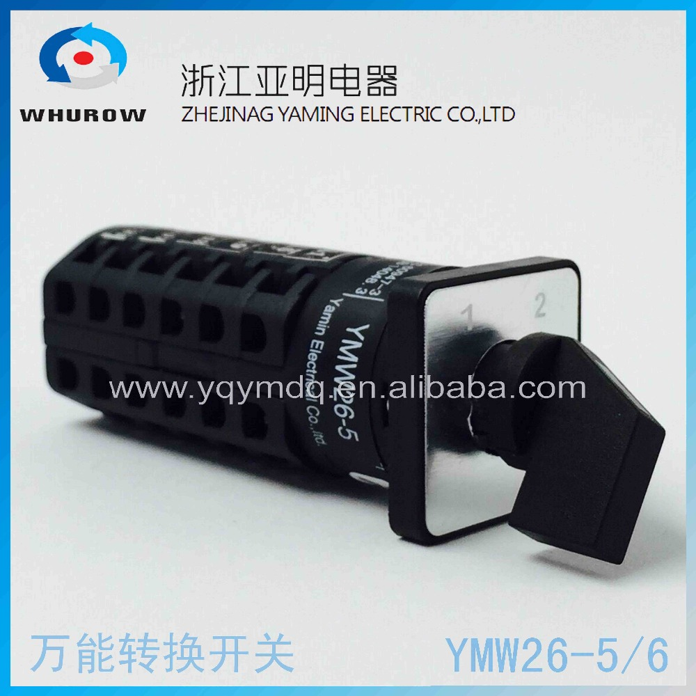89 6 Pole Changeover Switch Tap To 3 Phase Rotary Kan Nie Wiring Diagram Ymw26 5 2 Postion 690v 5a Universal Cam