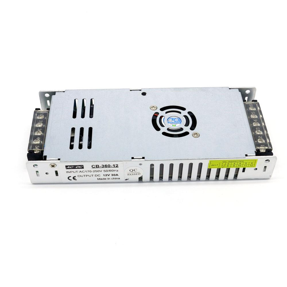 New Product Ultra Slim 12V 29A 350W Lighting Transformer