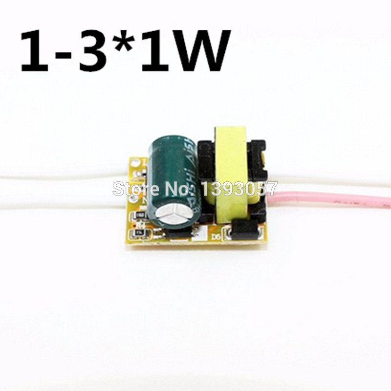 1-3W,4-7W,8-12W, LED driver power supply built-in constant current Lighting Transformers for DIY LED light