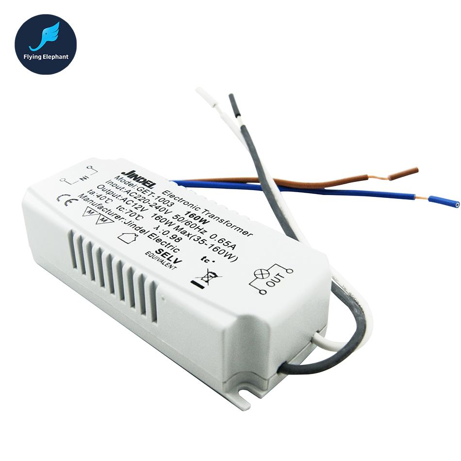 AC 220V 12V Electronic Transformer Halogen Light 20W//40W//60W//80W//105W//120W//50W ~