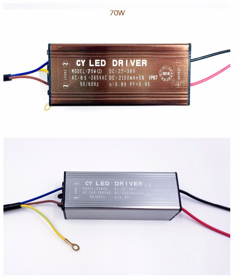 24v 50w High Power Led Driver Constant Current 1500ma 30-36v Honest 5pcs Waterproof Dc 12v Lights & Lighting