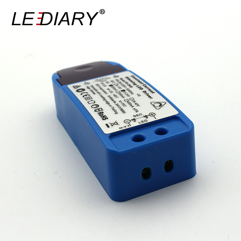 LEDIARY 5W Triac Constant Current Dimming LED Driver 220V 250mA Dimmable With Leading Edge Or Trailing Edge Dimmer CE Rohs
