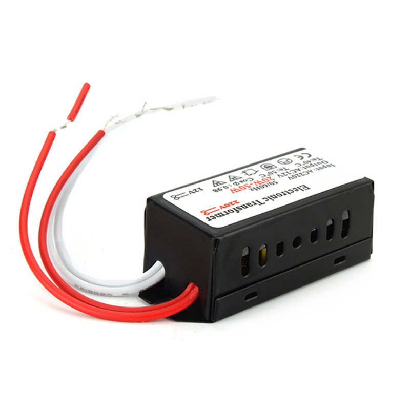 12V 20W-50W G4 Halogen Lamp Power Supply LED Driver Electronic Transformer For Low-voltage halogen lamp
