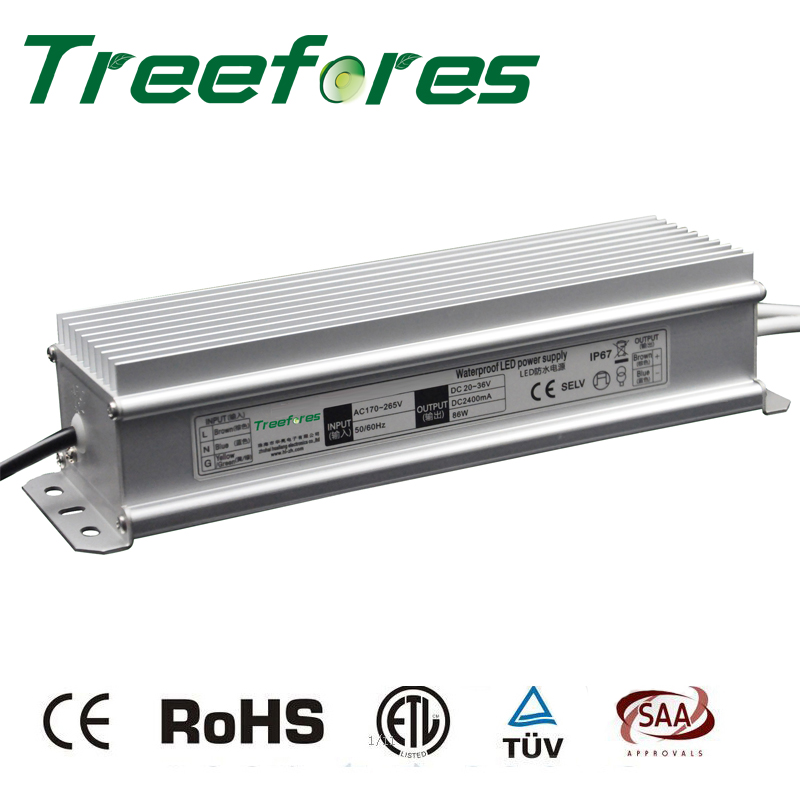 120W DC12V 24V IP67 LED Outdoor Lighting Transformer CE RoHS Waterproof Power Supply 120 Watts Driver Adapter