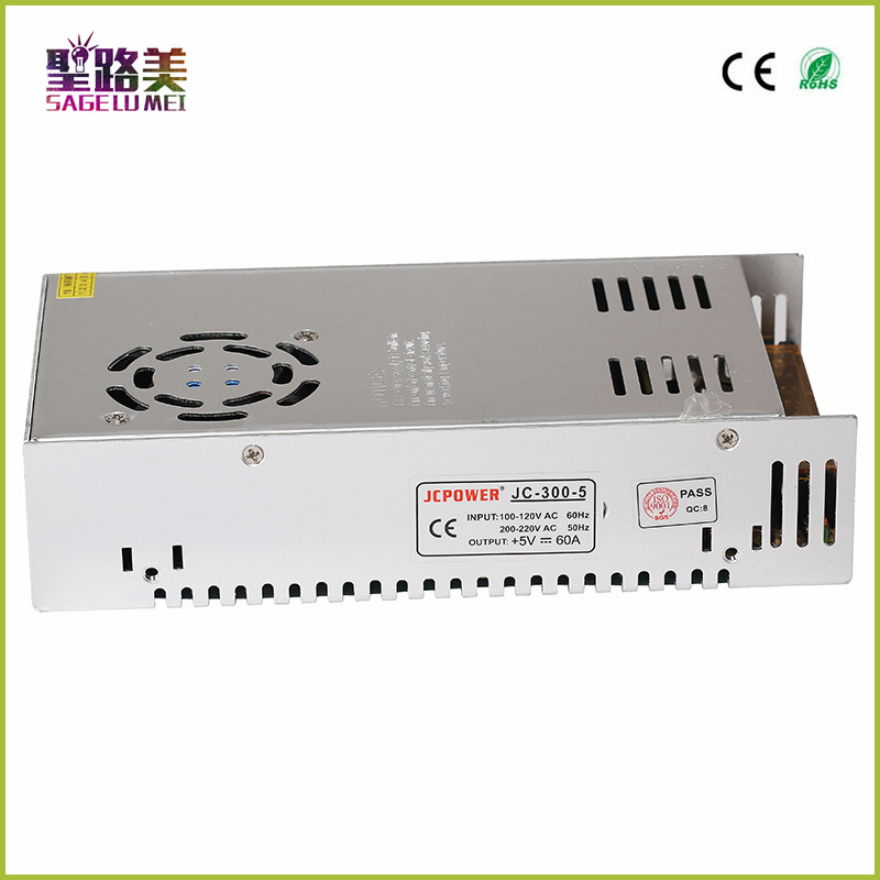 Current Control Charger LED CCTV US4 Adapter,5V 60A 300W output,LED lighting Switching Power Supply Transformers Driver