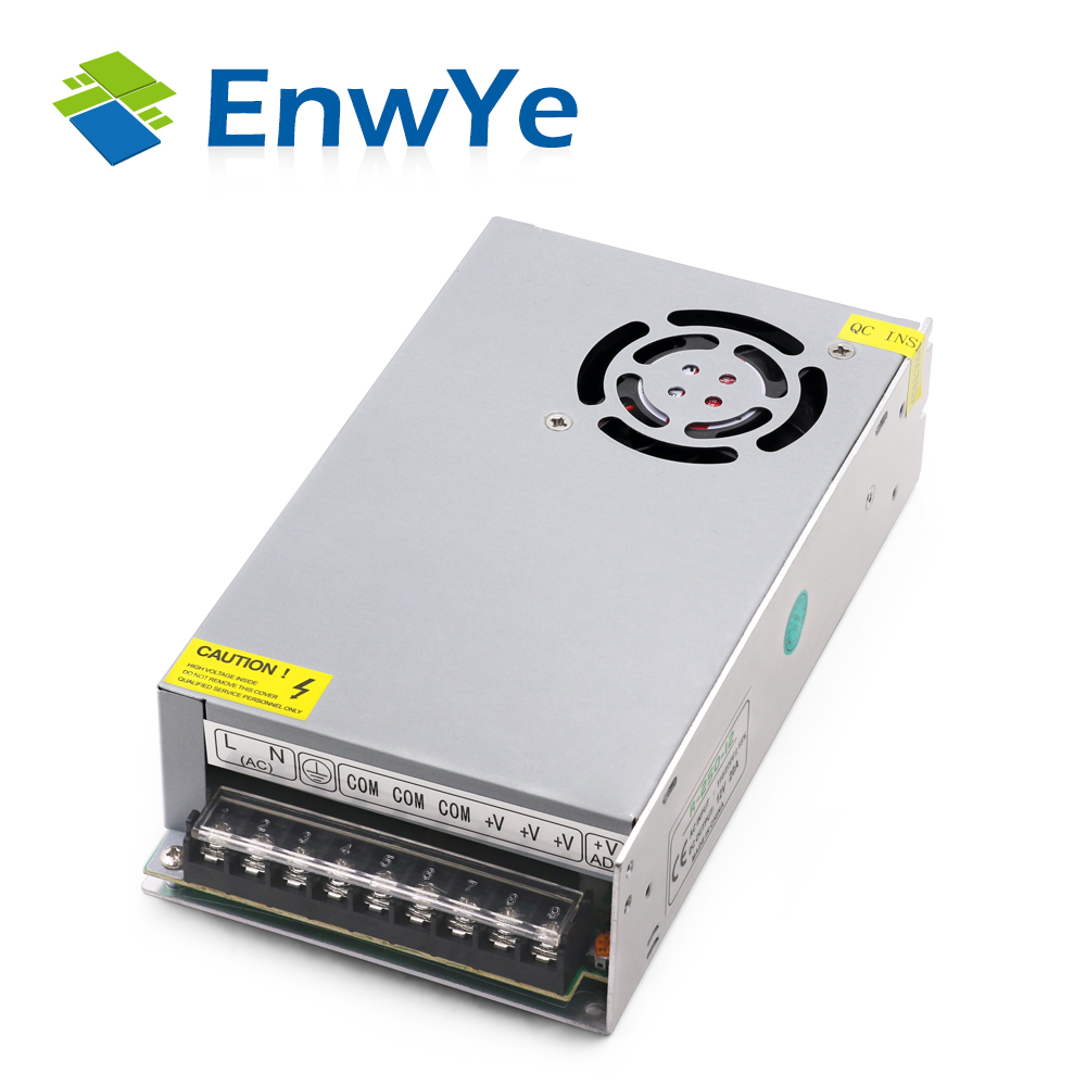 EnwYe Lighting Transformers DC12V High Quality LED Lights Driver for LED Strip Power Supply 15W 25W 80W 120W 150W 200W 300W 400W