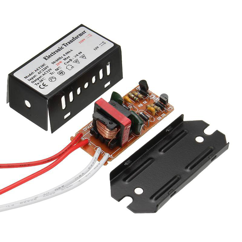 AC 220V To AC 12V 20/50/80/120/160/200/250W Power Supply Adapter Transformer LED Driver For LED Strip Light
