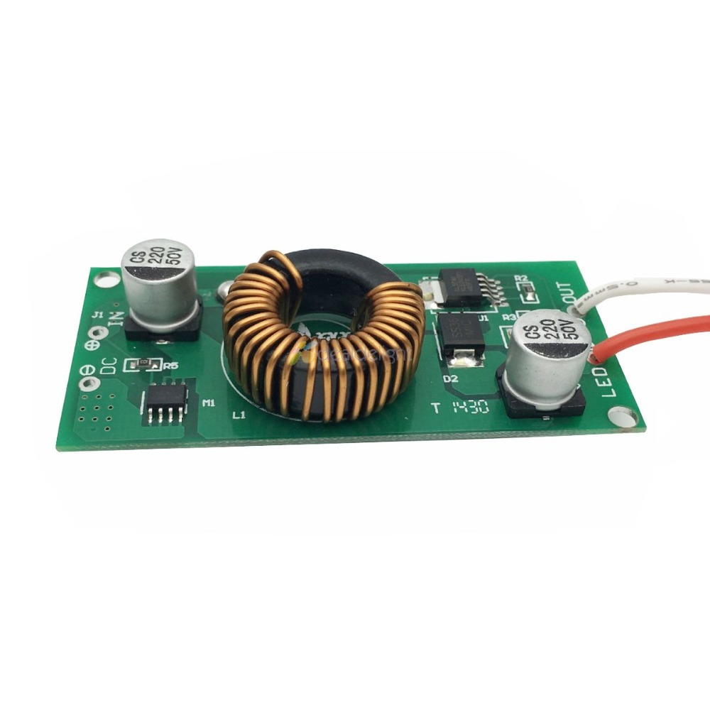 High Quality DC 12V - 24V to DC Constant Current LED Driver 20W 30W 50W DC input ower Supply for 20w 30w 50w led lamp