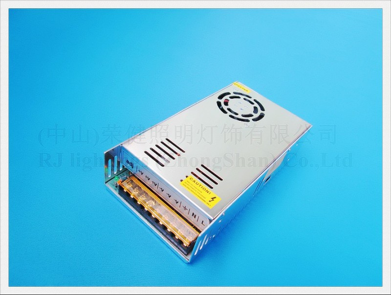 300W 25A LED transformer LED switching power supply input AC110V / AC120V / AC220V / AC240V output DC12V 300W 25A ROHS CE