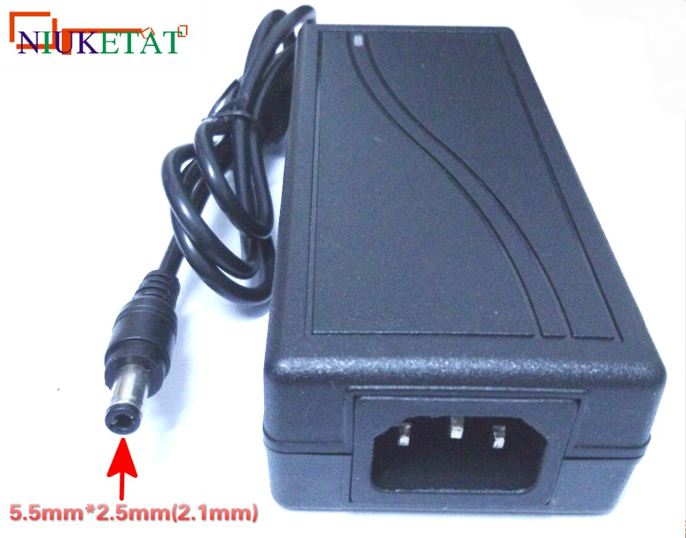 1pcs LX1204 AC 100-240V to DC 12V 4A 48W Power Adapter Switching Power Supply 12V4A Charger For RGB LED Strips Light