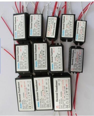 Lighting Transformers AC220V to 12V 60W Electronic Transformer Driver for G4 Halogen Lamp Bulb DIY Parts