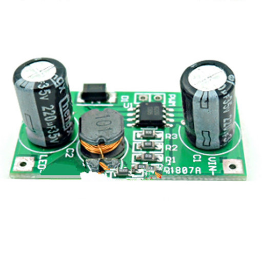 1W LED driver 350mA PWM dimming input 5-35V DC-DC step-down constant current module