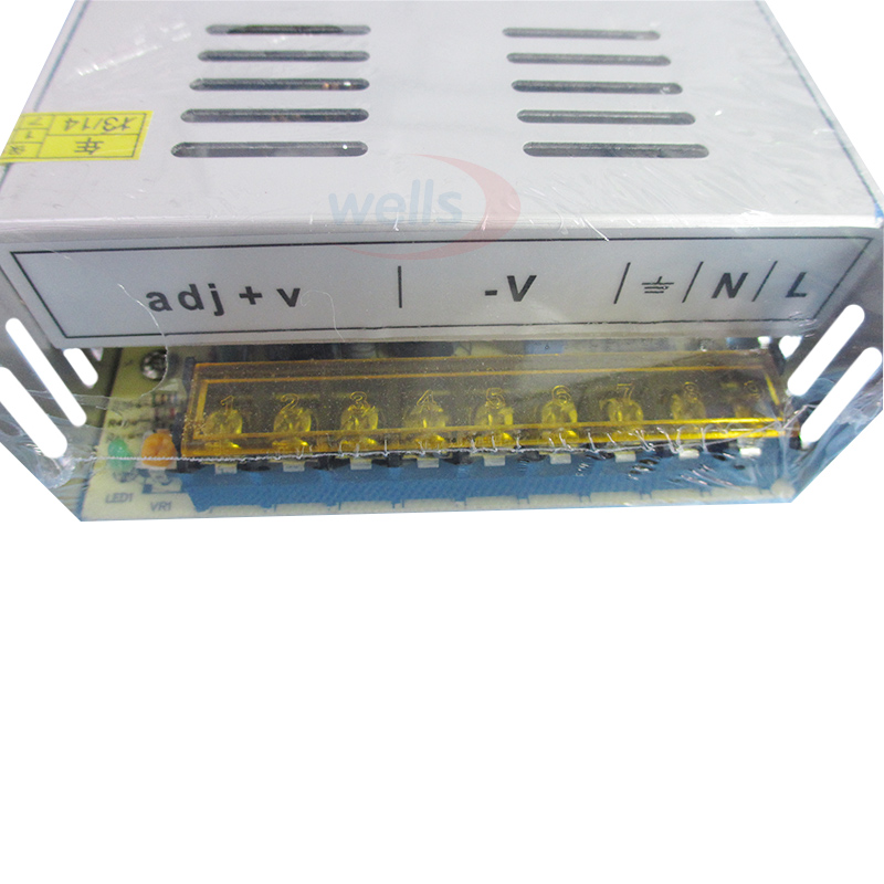 For WS2811 WS2801 LPD8806 LED Strip Light Led Driver AC 110-240V Input to DC 5V Transforme Adapter 5V 60A 300W Power Supply