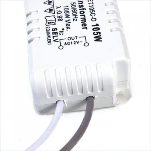 KSOL Halogen Light Electronic Transformer 105W 12V 220V - 240V