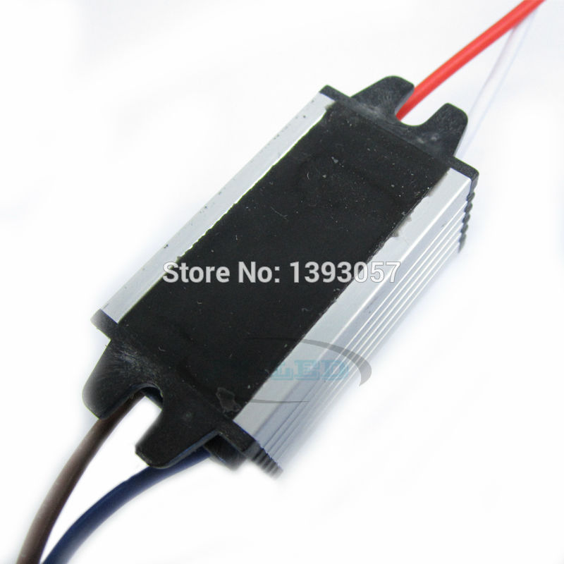 5pcs 10W High Power LED Waterproof Driver IP67 350mA DC15-34V Constant Current Aluminum LED Power Supply