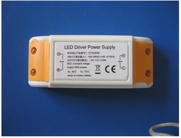 1 piece LED Power Supply 12V 2A 25W LED Driver Power Adapter Switching AC 85-264 V Lighting Transformers