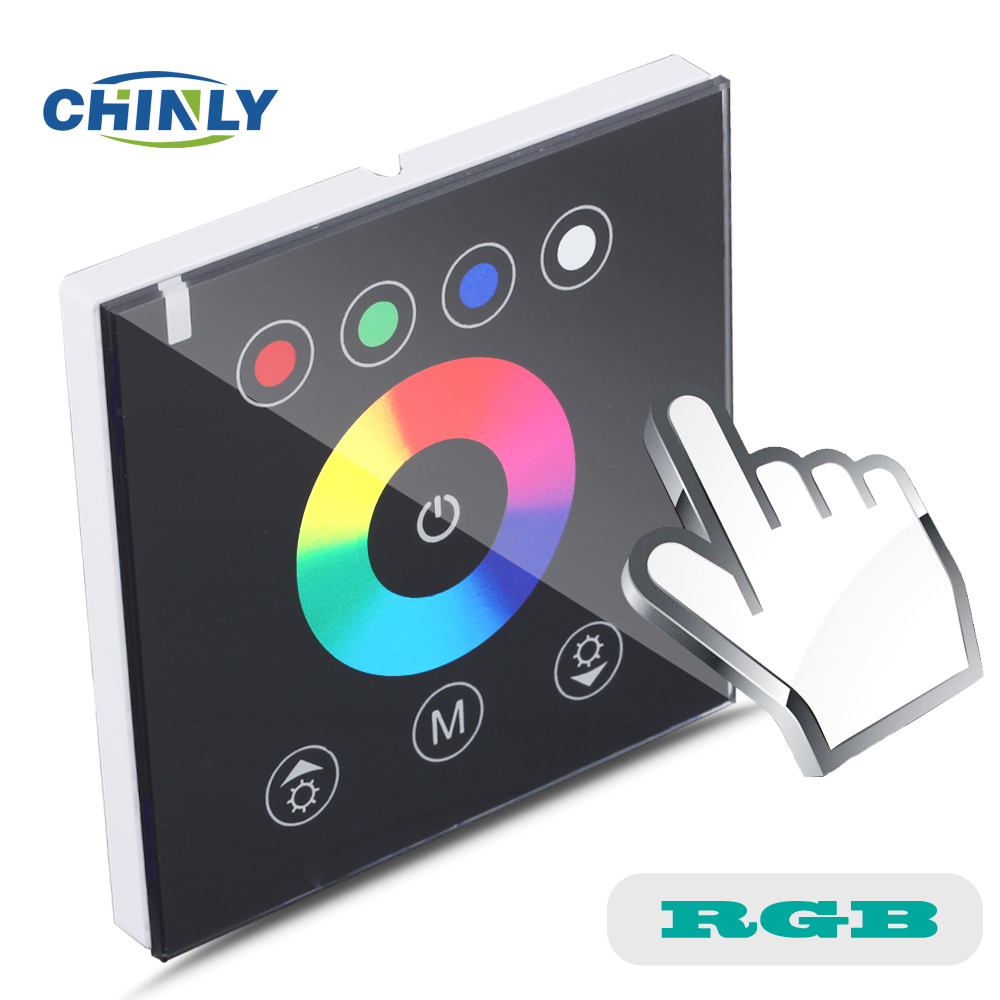 DIY home lighting NEW RGB LED Touch switch Panel Controller led dimmer for DC12V LED strip lights