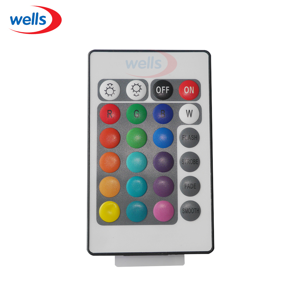 1pcs RGB / RGBW wifi Controller with 24key remote IOS/Android Mobile Phone wireless for 5050 RGB / RGBW LED Strip