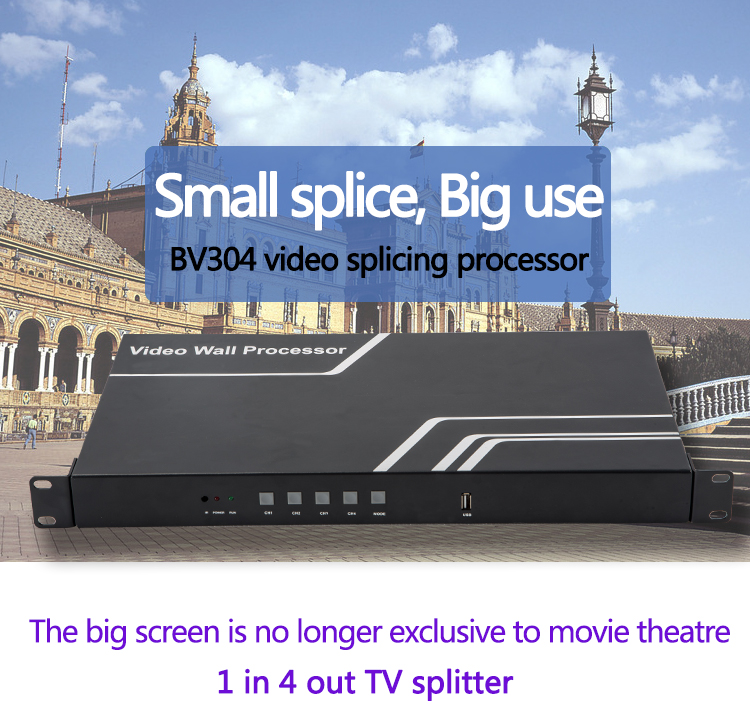 SZBITC Great Video Wall Controller 1080P TV shows screen