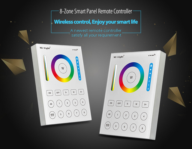 Panel Light Dc12v-24v Cooperative Milight P3 Panel Controller Rgb Rgbw Rgb+cct Led Touch Switch Panel Controller Led Dimmer For Led Strip Lights & Lighting
