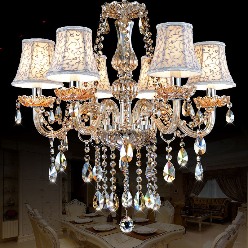 Modern Chandelier Lighting K9 lustres de cristal moderne lustre for home lighting Bedroom Kitchen Dining Crystal chandelier lamp