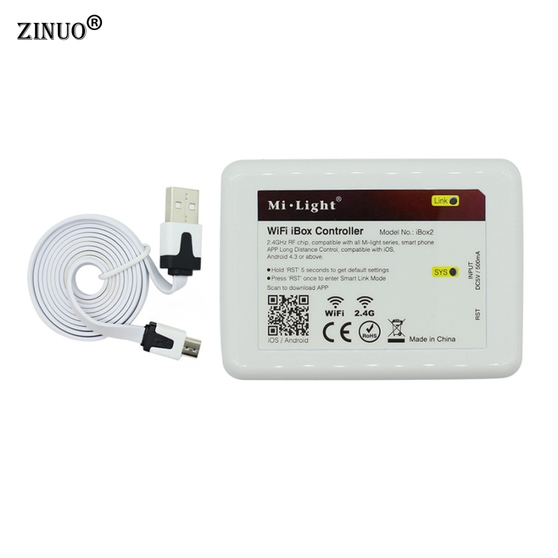ZINUO Milight 2 4G LED WiFi iBox Remote Controller