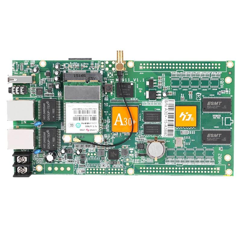HD-A30+ huidu new product rgb led control board full color