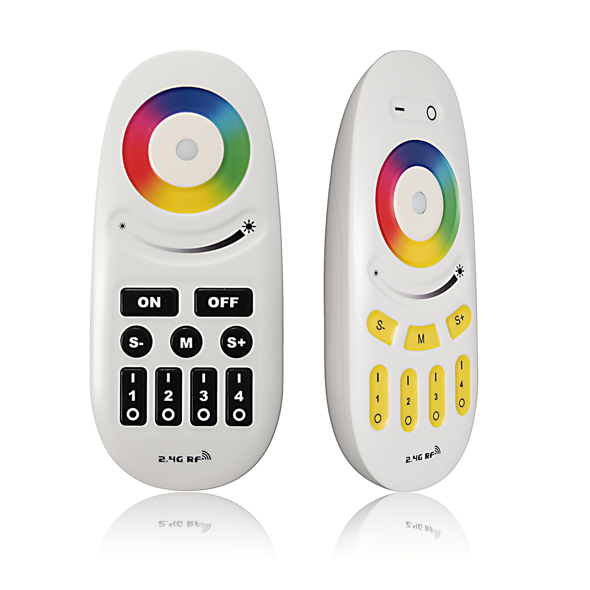 RGBW OR RGB LED Controller 2.4G RF Touch Screen Remote Control 6A per Channel for RGB/Single led strip Light