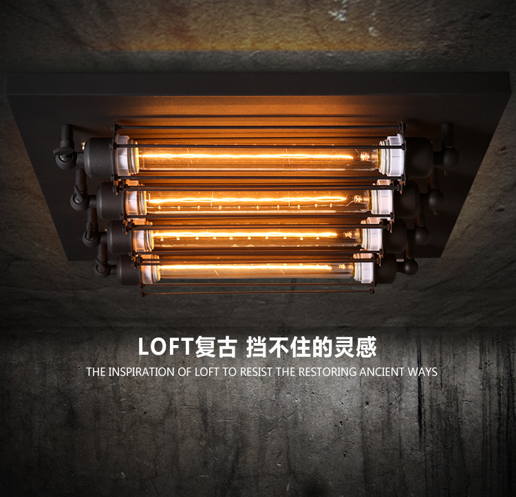 Loft Retro T30 Edison Bulb Ceiling Light Fixture Wrought iron industrial vintage Edison wall ceiling lamps 220v/110V