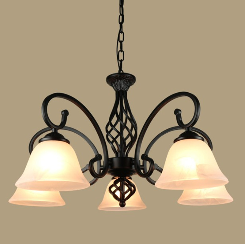 Classic Iron Chandelier lamp