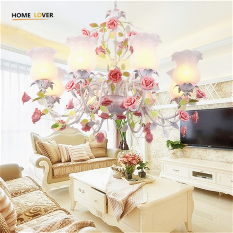 2017 New arrival Hot sale chandeliers genuine vintage chandelier handmade golden high quality flowerlike novelty led chandelier