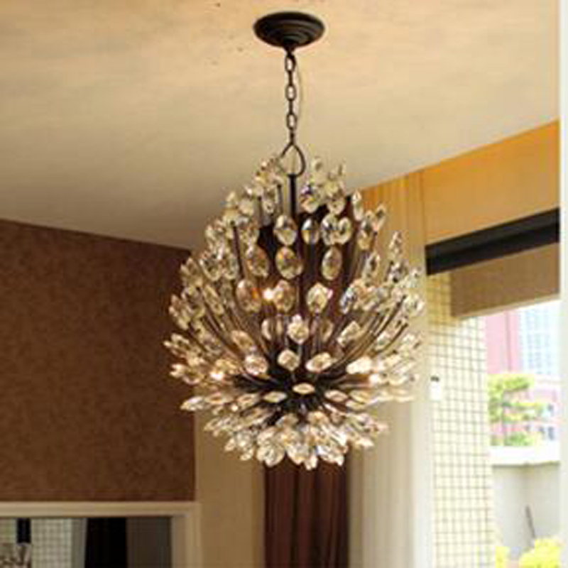 Crystal Chandelier Lighting LED Chandeliers Light Luxury Modern Art Deco Lights Dream Lamp Fixture Lustre Pendant For Dinning