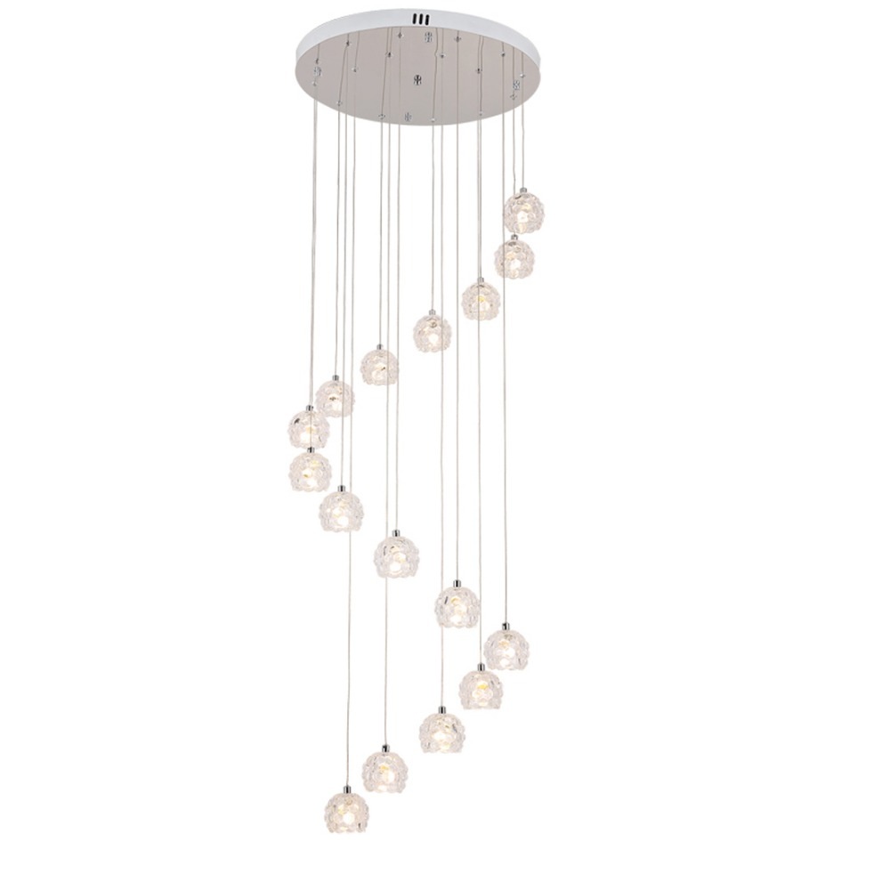 modern spiral chandelier led staircase lighting indoor stairway lighting chandelier dining room drop light long Spiral Stair
