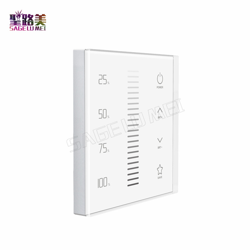 LTECH EX1S 2 4GHz RF LED Dimming touch panel Brightness