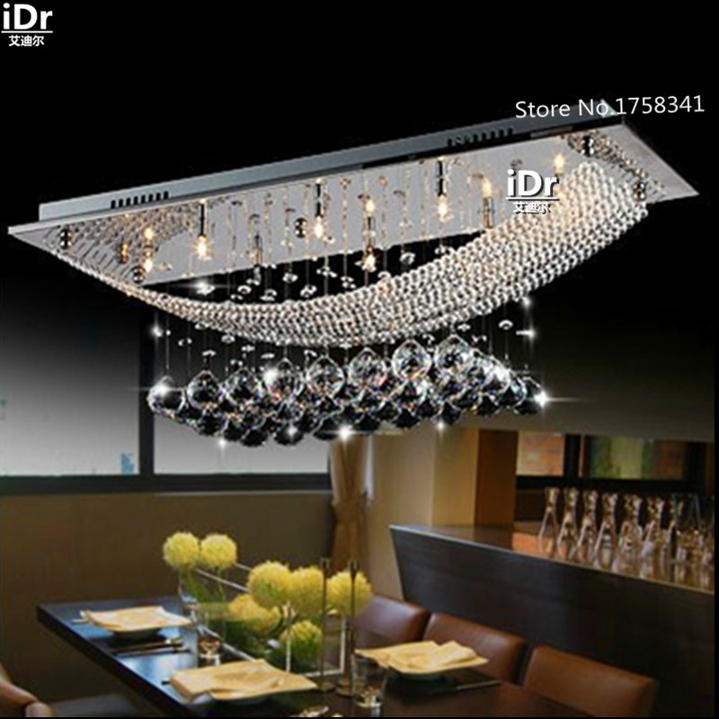 Contemporary High-grade light Bedroom lights Crystal Dining   crystal  Upscale atmosphere chandelier light  free delivery