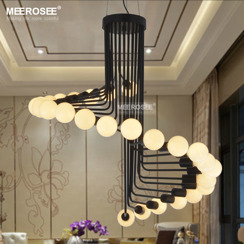 Lights & Lighting Industrial Iron Multi-heads Chandelier Fashion Golden Chrome Vintage Living Room Bedroom Dining Room Decor E27 Pole Chain Lamp With The Best Service