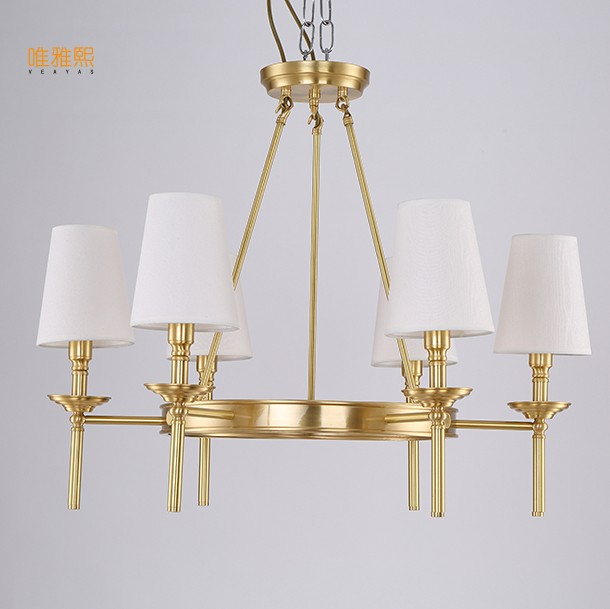 LED Chandelier Chandeliers Golden Luxury Chandeliers  Modern E14 Ceiling Fixture Lights Home Hotel Deco