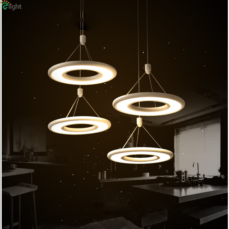 Nordic Simple Led Pendant Chandelier Lighting Lustre Acrylic Dining Room Led Chandeliers Lamp Bedroom Led Hanging Lights Fixture
