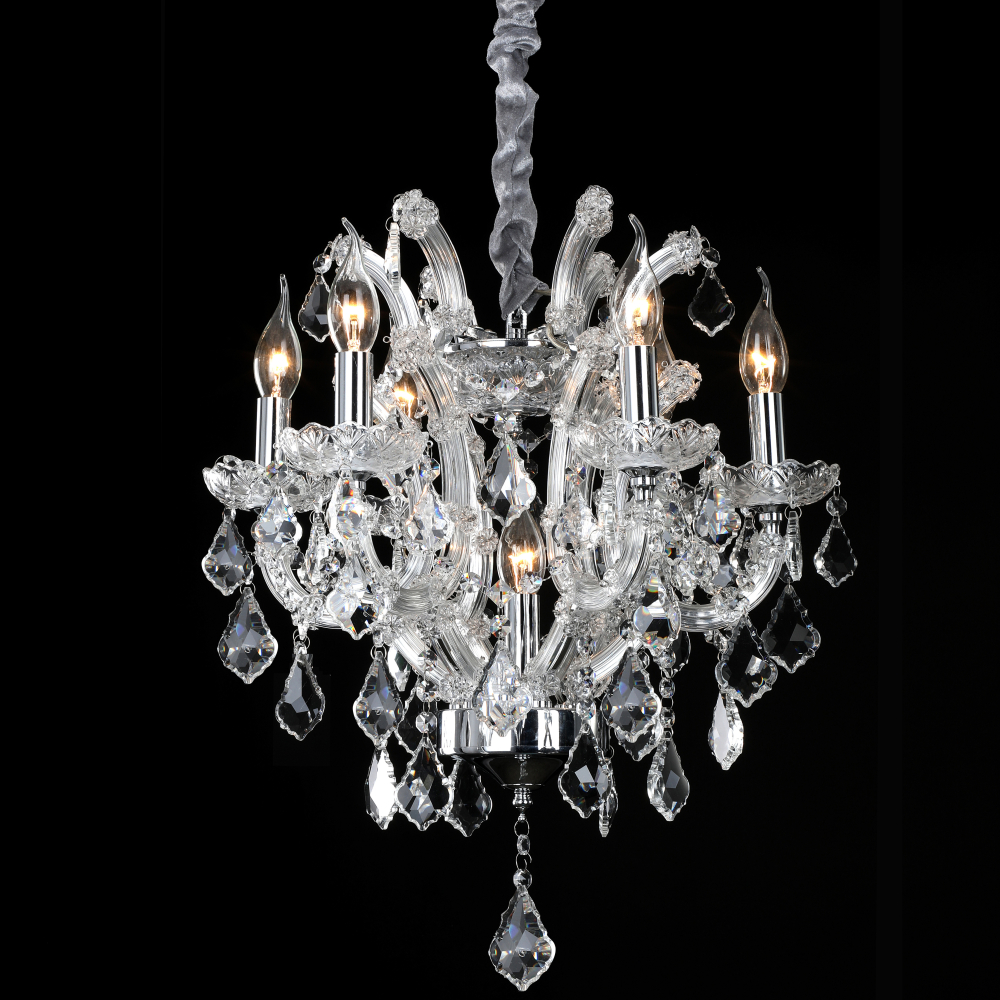 Russia Crystal Chandelier Lights Luminaria LED Chandelier Lighting with Austria Crystals for Living Dining Room Restaurant Decor