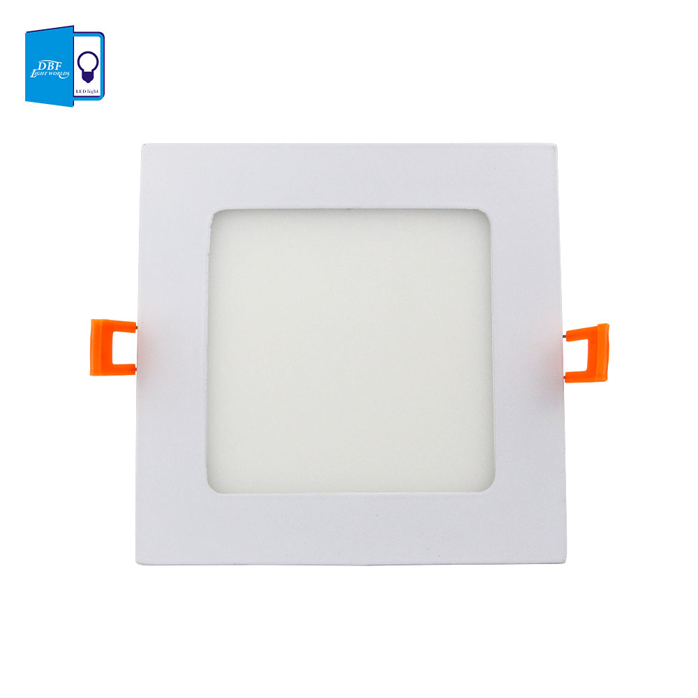 [DBF]Ultra Thin 3W 4W 6W 9W 12W 15W 18W Dimmable LED Recessed Ceiling Lamp Square LED Panel Light 3000K/4000K/6000K Home Decor