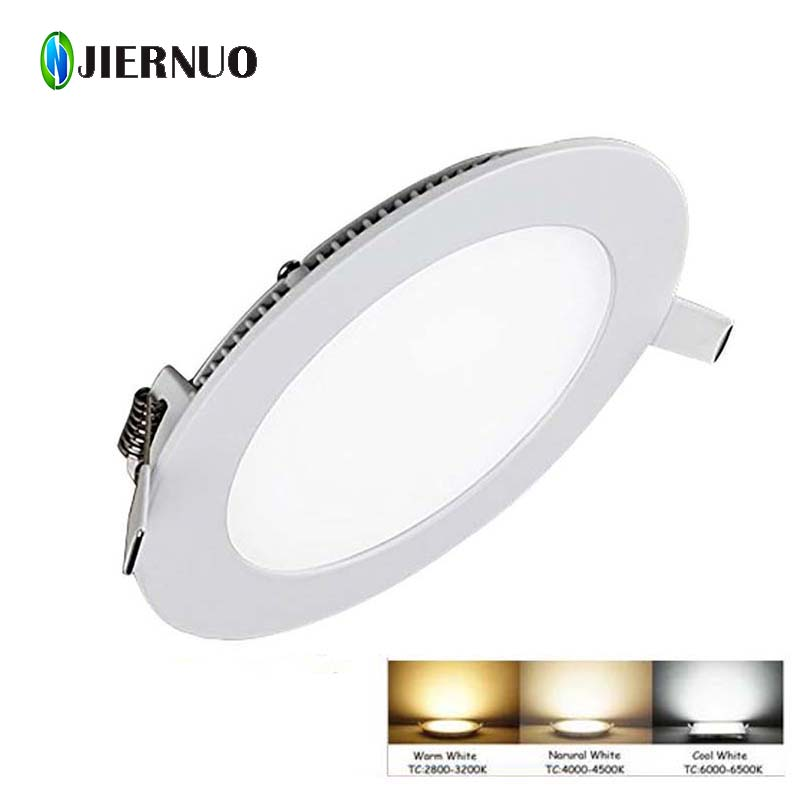Trend Mark Dimmable Downlight 24w 32w 40w Led Panel Natural White Round Panel Lights Ceiling Recessed Lamps Ac 220v 240v White Warm White Downlights Ceiling Lights & Fans